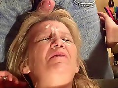 Facial On A Green Seat