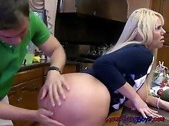Horny Stepmom Karen Fisher Blows Stepson Then Invites