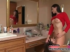 Sexy Brunette Lesbians Get Horny Making Out Naked By Mo