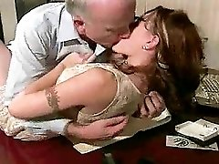 Old Boss Fucks Young Employee In Her Asshole