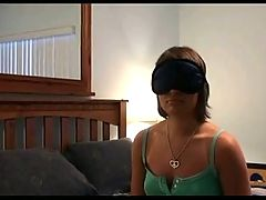 Tanlined Cutie Amy Blindfold Fuck