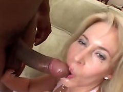 Erica Sexy Mature MILF 1st Time Black Cock Anal