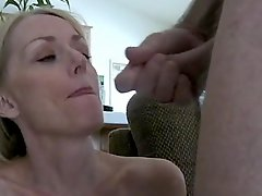 Milf Sucks Dick And Tastes Cum