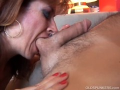 Sexy Old Spunker Loves To Fuck And Sticky Facial Cumshots