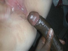 Plump White BBW Good Pussy Fucked And Creampied By Black Dick