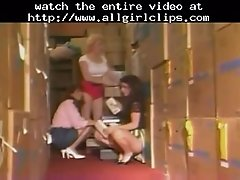 Christy Canyon Sexy Lesbian Threesome Lesbian Girl On