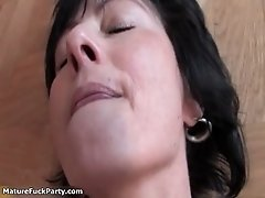 Nasty Mature Women Get Their Cunts Fucked And Licked Ha