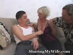 Mature Lady Fucks Student Of Hubby