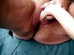 73 Old Grandma Having Fun