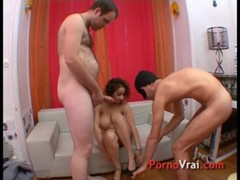 Infirmiere A Gros Lolos Se Tape 2 Gars French Amateur