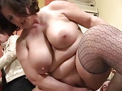 Thick Mature Italiana Takes Anal Italian Cuckold