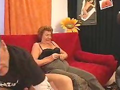 Horny Gilf Double Teamed Amp Creamed