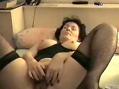 Amateur Mature Masturbates To Orgasm