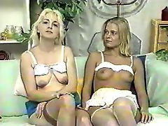 Mother And Step Daughter Strip Shave And Play