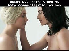 Girls Kissing Lesbian Girl On Girl Lesbians