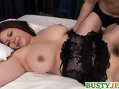 Yuuki Busty Sucks Penis In 69