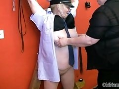 Dirty Mature Woman Goes Crazy Getting Her Tits Sucked H