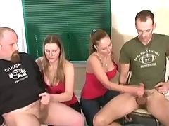 Group Handjob