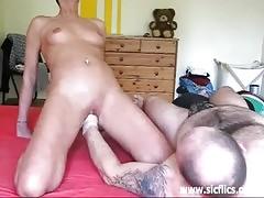 Horny Amateur Slut Fist Fucked Till She Orgasms