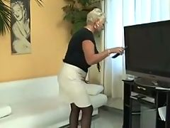 Granny Gets Help From Repairman