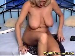 My MILF Exposed Extreme Dildos In Milfs Pussy