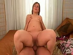 Mature BBW Big Booty Creampie