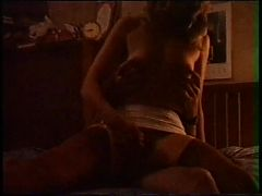 Slut Wife Cums In A Corset And Stockings
