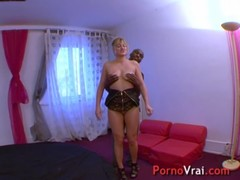 Squirting Blonde Multiorgasmic Exhibitionist Slap On Ass French Amateur