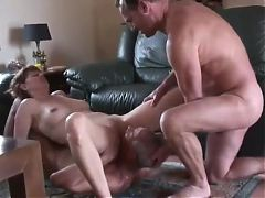 Old Bi Man Sucks Dick And Pussy Of Mature Couple