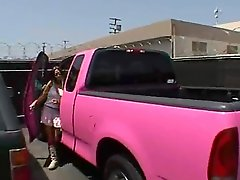 Picked Up In Her Pick Up Truck Classy Mature Blonde Is Amazing