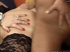 Nasty Mature Whore Gets Horny Sucking On A Cock And Get