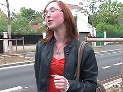 Young French Redhead Hard Analized With Her Nice Small Tits