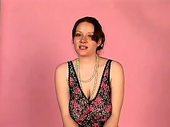 Brunette With Huge Tits Rides An Electric Sybian