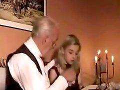 Mature Man Fucks Blonde Teen Girlfriend With Sweet Body
