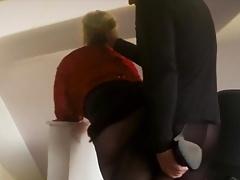 Horny Fuck In Slingbacks