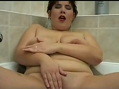 Horny Fat Chubby Teen Playing With Her Shaven Wet Pink Pussy