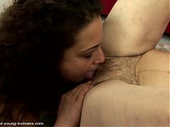 Old Granny Fucked By Young Lesbian Girl