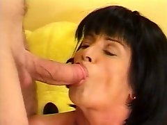 Mature Lady Lusts For Young Guys Cock