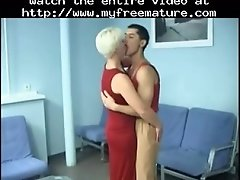 Milf Blonde Fucked Anally By Her Young Lover Mature Mat