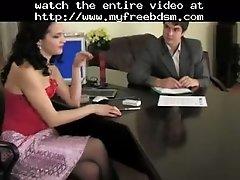 Office Strapon Mistress BDSM Bondage Slave Femdom Domin