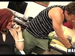 Jessica Ryan 28sexy Female Boss Finds Hard Cock In Her Lonely Office 29