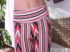 Magic Pants MILF Vicky Vette Gets A Load