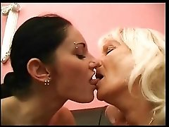 Lesbian With Granny
