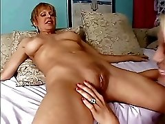 Milf And Teen Lesbos