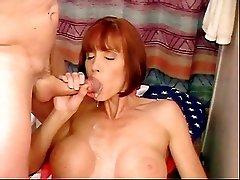 Milf Twyla Gets A Mouthful Of Cum