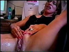 Latina Mom Squirts Before Hub Comes Home