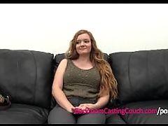 Teen Redhead 1st Anal 2c Ambush Creampie Casting