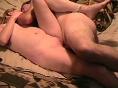 Homemade Couple Having Sex With Pleasure