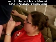 Bbw Girlfriend With Glasses Gives Me Another Blowjob Bb
