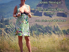 Dutch MILF Flashing Trough Auvergne France